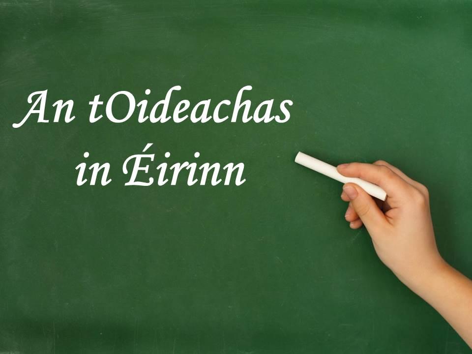 An tOideachas in Éirinn - íomha