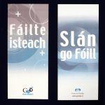 Comhartha Fáilte Slán