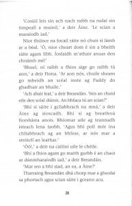Dhá Chorp inside page