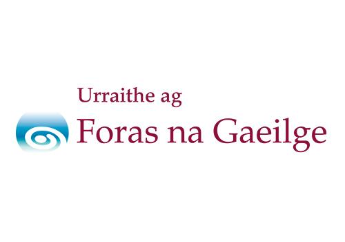 Foras_na_Gaeilge_Logo_1_3_Mor_Urraithe_ag_th