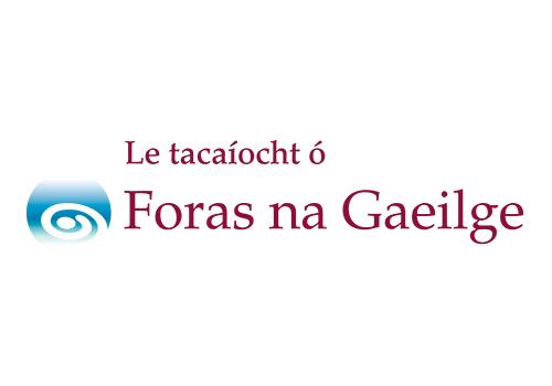 Foras_na_Gaeilge_Logo_1_4_Mor_Le_tacaiocht_o_th