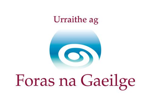Foras_na_Gaeilge_Logo_2_3_Mor_Urraithe_ag_th
